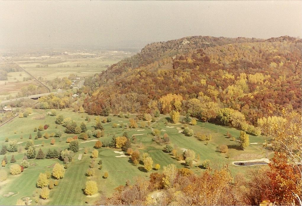 The view from Grandad bluff